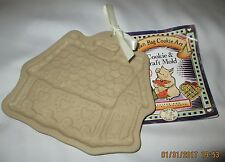 Brown Bag Cookie Art Gingerbread House Cookie Mold Heart Cottage1993 w/ Recipes