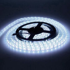 5M 300Leds 5050 Cool White Flexible LED Strip SMD Light IP65 Waterproof DC 12V