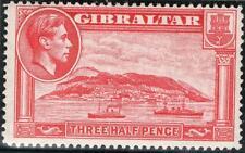 Gibilterra GEO vi 1938-51 SG123 11 / 2D PERF 14 M / M