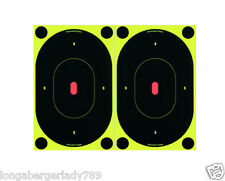 12 SELF ADHESIVE SHOOT n C OVAL CENTER MASS TARGET TARGETS RIFLE SNIPER STICKERS
