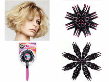 3D Bomb Curl Brush Styling Salon Round Hair Curling Curler Comb Tool 2016 New