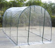 Serra a tunnel da giardino copertura per orto piante e fiori 200x300h190 semina