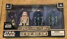 Star Wars Droid Factory set of 4 NEW Disney Park Exclusive Rise of Skywalker
