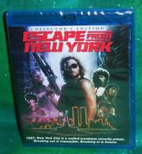 NEW SCREAM FACTORY ESCAPE FROM NEW YORK COLLECTOR'S EDITION MOVIE 2 DISC BLU RAY