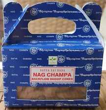 Rückfluss Räucherkegel Nag Champa Palo Santo Backflow Dhoop Cones Satya Sai Baba