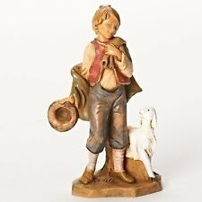 "Fontanini LUCAS, Little Boy Shepherd, 5"" Scale Nativity Figurine, by Roman 54074"