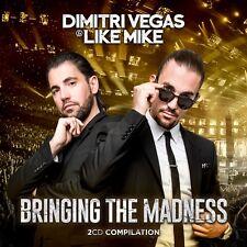 CD * DIMITRI VEGAS & LIKE MIKE / BRINGING THE MADNESS (2CD - NEW & SEALED !!)