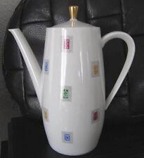 SELTMANN WEIDEN K. BAVARIA Kaffeekanne Porzellan 1950er? Jahre Markung Krone alt