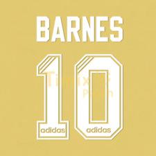 Name + Number Set Printing John Barnes 10 1995 1996 Liverpool Home White