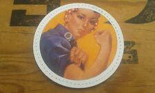 """SNAKE PATCH - PVC 2D """" GIRL POWER """" vintage RETRO ww2 US USA wac NURSE mécanique"""