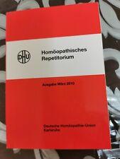 Homöopathie Fachliteratur Homöopathisches Repetitorium 2010 NEU+OVP 428 Seiten