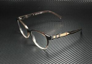 BURBERRY BE2229 3597 Brown Gradient Pink Demo Lens 52 mm Women's Eyeglasses
