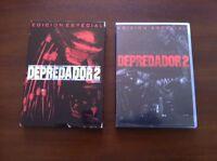 DEPREDADOR 2 - 2 DVD -  ED ESPECIAL DE CULTO - DANNY GLOVER - USADA BUEN ESTADO