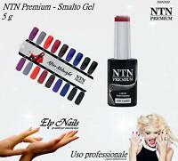 Smalto Gel NTN Premium 5 ml - Semipermanente Hybrid Gel tutti i colori- Nail Art