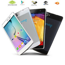 "ANDROID 4.4 KK 5.5"" SMART TOUCH SCREEN 3G (WHITE) DUAL-SIM SMARTPHONE UNLOCKED!"