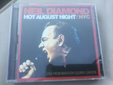 NEIL DIAMOND HOT AUGUST NIGHT NYC 2CD HOLLY NOISE ROCKS I AM SOLITARY JEANS ROSI