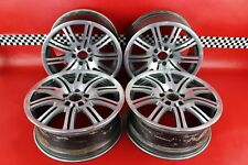 "2001-2006 BMW M3 E46 Set of 4 19x9.5"" Wheels 10 Spoke Front Rear Staggered"