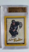 Alexander Ovechkin 2005-06 Beehive GOLD Rookie Card BGS Graded 9.5 W10!!!