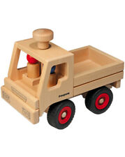 Unimog Basismodell 10.02 Fagus Classic Holzfahrzeug mit zwei Holzpüppchen