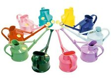 Haws 0.7L Litre Plastic Handy Kids Watering Can Brass Rose Red Blue Green Pink