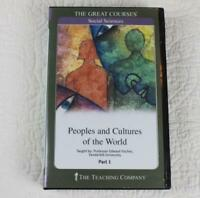 The Teaching Company Peoples and Cultures of the World Part 1 CDs & Guidebook D7