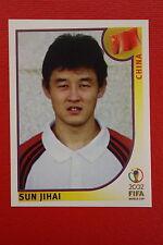 PANINI KOREA JAPAN 2002 # 208 CHINA JIHAI WITH BLACK BACK MINT!!!