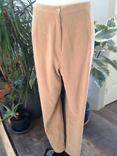 ELISA pantalon femme polyester elastane beige grande taille 54 / 56