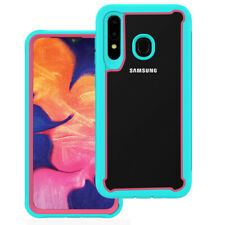 For Samsung Galaxy A10e A20 Case Hybrid Heavy Duty Shockproof Clear Back Cover