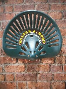 Cast Iron Walter Wood Tractor Seat