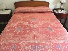 BEDSPREAD /MARCELLA 1950s BEDCOVER RARE ANTIQUE/ VINTAGE CLASSICAL Queen /Double