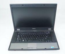 """Dell Latitude E5510 15.6"""" Intel i5-540M 2.53GHz 4GB DDR3 Fair No Caddy HDD BATT"""
