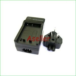 Battery Charger For Panasonic Lumix DMC-FS480 DMC-FS62 DMC-FS42 DMC-FT1 DMC-FT2