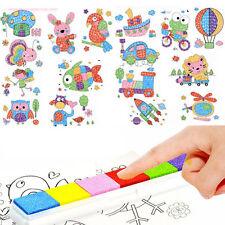 8Pcs Kid Finger Painting Craft Set Children Fingerpaint Drawing Education Toy TB