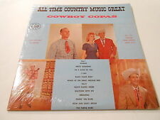 COWBOY COPAS ALL TIME COUNTRY MUSIC GREAT  FIRST STARDAY. M- NMVINYL lp 118