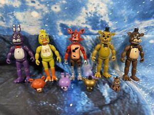 Five Nights at Freddy's FNAF Action Figures Doll Games Toy Set Bundle