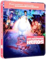 Blu-ray Les Nouveaux Héros Disney Steelbook Édition Exclusive Fnac France