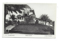 Vintage RP postcard Hotel Cristina - Algeciras, Spain. Posted to UK 1955