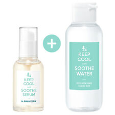 KEEP COOL Soothe Bamboo Serum 50ml + Soothe Phyto Cleansing Water 100ml