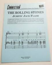 Partition sheet music ROLLING STONES : Jumpin' Jack Flash *60's Guitar / Guitare