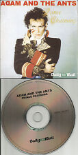 ADAM AND THE ANTS Rare LIMITED IRISH NEWSPAPER Sleeve PROMO CD USA seller 2008