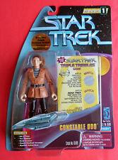 Star Trek Trials & Tribbleations CONSTABLE ODO Action Figure FUZZY TRIBBLES MOMC