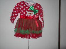 bnwt baby girls christmas tutu party dress 18 months