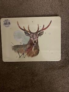 Set Of 4 Woodland Friends Place Mats/ Table mats 4 Different Designs In Pack New