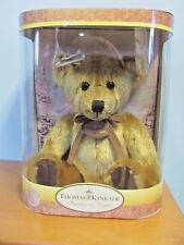 "New In Box Thomas Kinkade 25Th Anniversary 1992 Gold Nanette 10"" Bear"