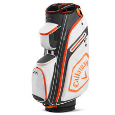 Callaway 2020 Chev 14+ Cart Bag - White/Charcoal/Orange