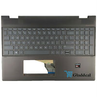 NEW For HP Spectre X360 15-CH Palmrest With Backlit Keyboard  L15588-001 English