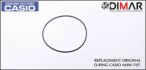 Casio Gasket / Back Seal Rubber, o-Ring, For AMW-707