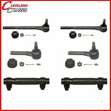 4 Front Tie Rod Ends & 2 Sleeves Chevy Belair One-Fifty Series Two-Ten 55-57