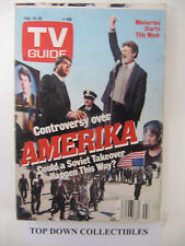 TV Guide    Feb. 14-20  1987    Amerika Could A Soviet Takeover Happen This Way?