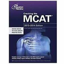 Cracking the MCAT, 2013-2014 Edition by Princeton Review Staff (2012, Paperback)